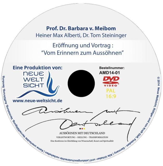 DVDs zur Konferenz Aussöhnen mit Deutschland